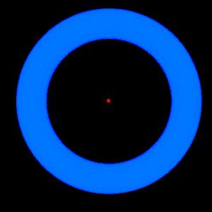 смотрите на красную точку
