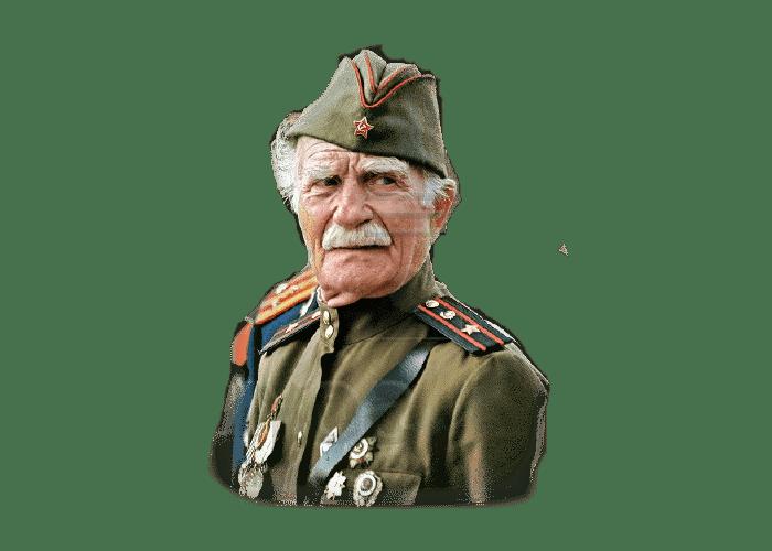 Дедушка-ветеран войны