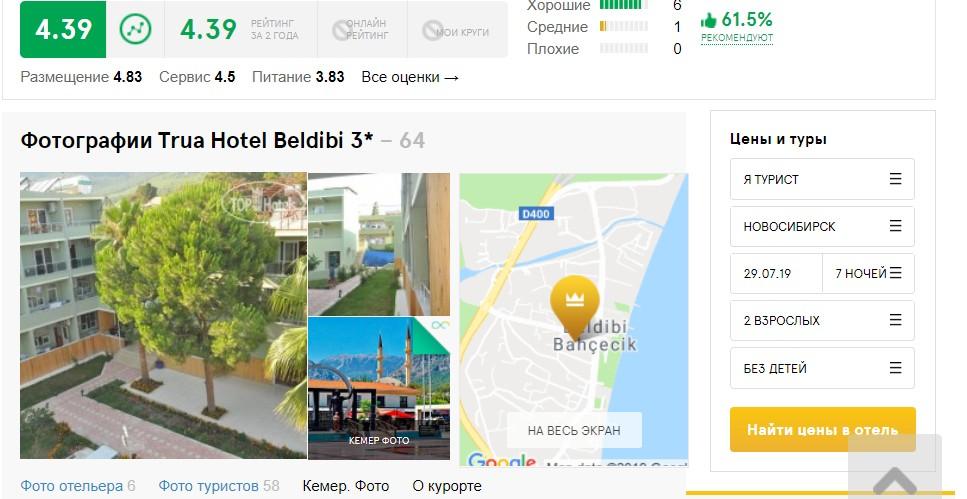 Trua Hotel Beldibi 3