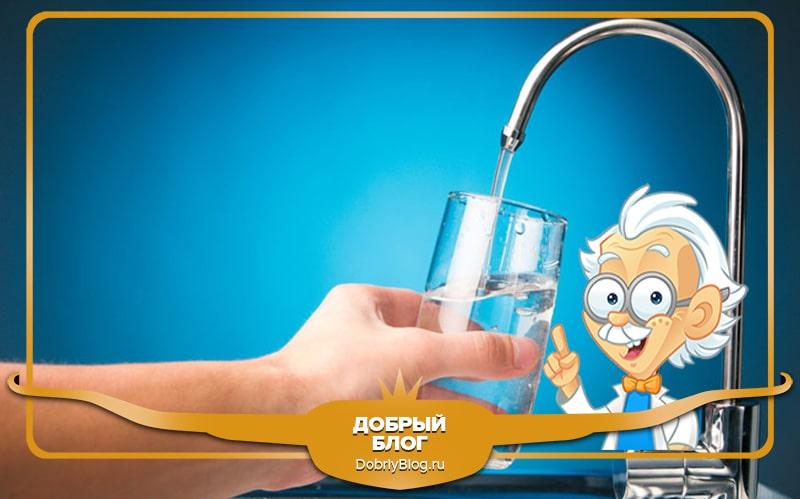 Естественное очищение тела - вода