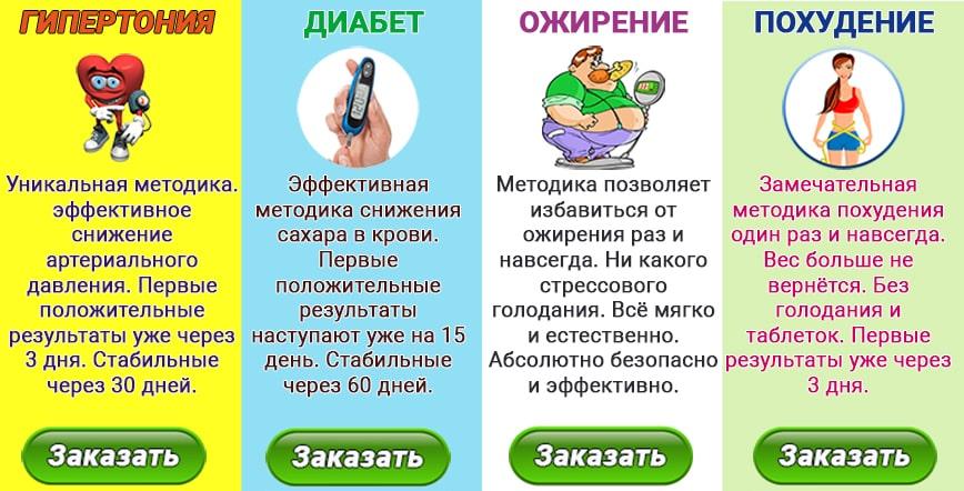 Методики восстановления организма.