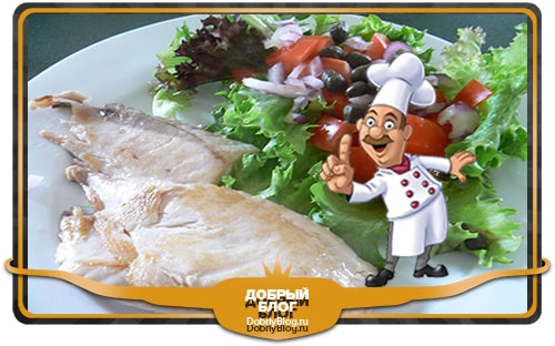 экспресс диета. отварная рыба и овощной салат