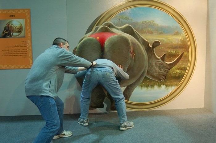 Случай в музее