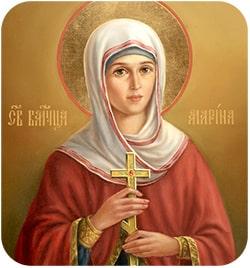 Святая Марта заступница рабочих людей