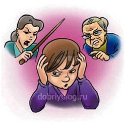 Конфликты с детьми