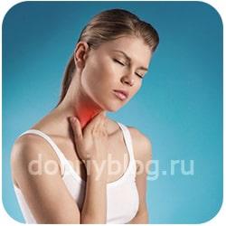 Лечение горла отварами