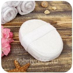 мягкая мочалка для сухой кожи