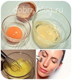Домашний уход за лицом - молоко, желатин, яйцо