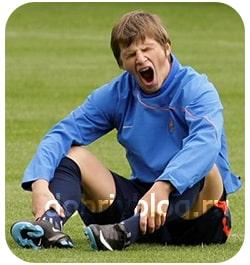 Уставший футболист