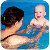 Польза плавания детей