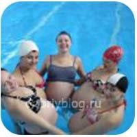 Польза плавания для беременных женщин