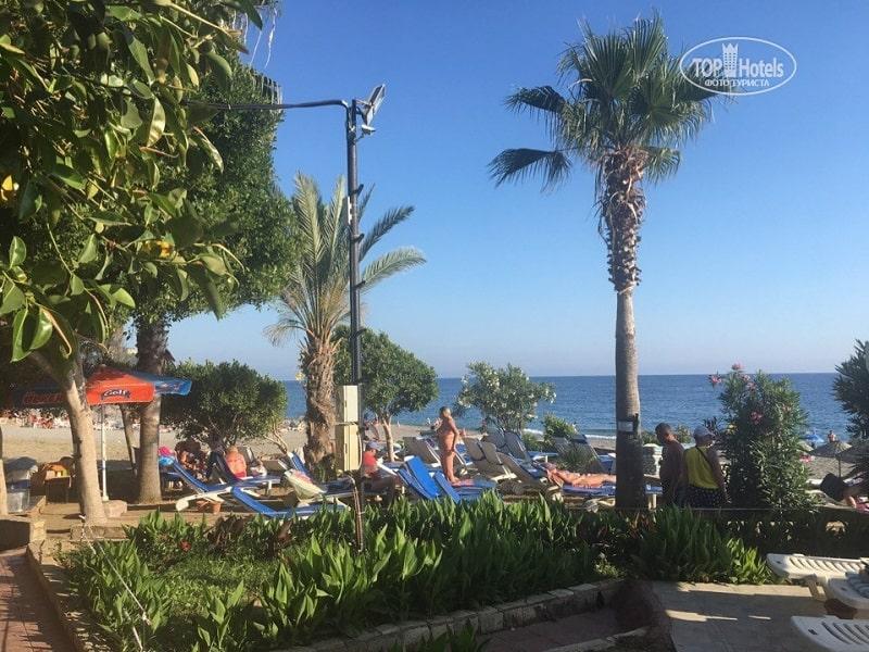 лучшие недорогие отели Турции. На пляже