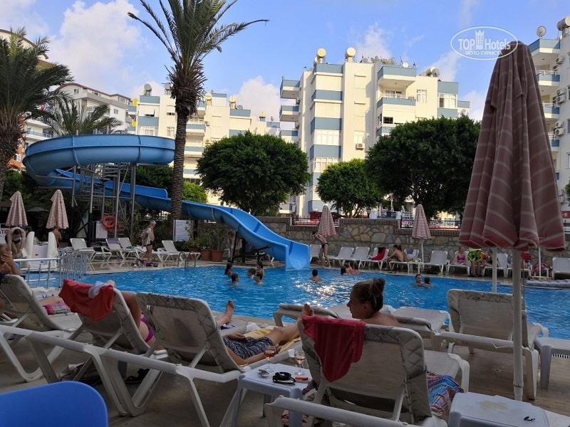 лучшие недорогие отели Турции. Водяные горки