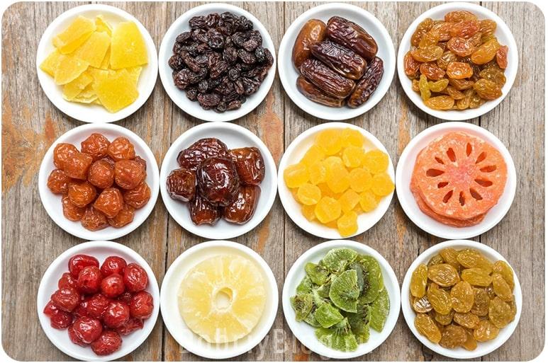 Чем заменить сладкое на диете - сухофрукты