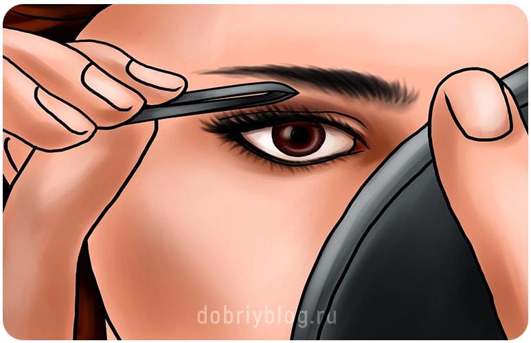 Почему выпадают волосы на бровях