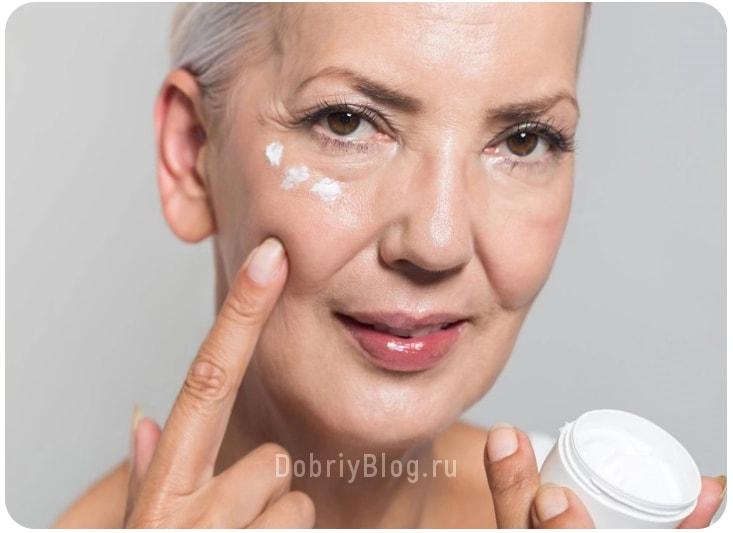 Как выбрать крем для лица после 50 лет
